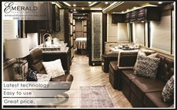 Prevost Coaches | Emerald Luxury Coaches